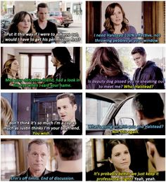 Lindsay and Halstead <3 They really need to be together!