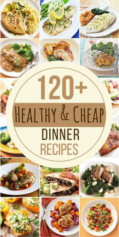 This is the ULTIMATE resource for cheap and healthy dinner recipes that anyone can make without breaking the bank. Eat well for less with these affordable and healthy meal ideas! Chicken Lemon-Rosemary Chicken Thighs from MyRecipes Baked Honey Mustard Chicken from Allrecipes Roast Chicken & Sweet Potatoes from Eating Well Pan-Roasted Chicken with Brussels Sprouts and Apples … … Continue reading →