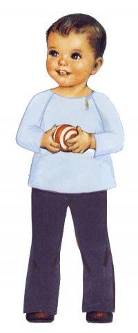 Melchior : tunique à manches raglan et fente sur le côté de l'encolure, de Citronille