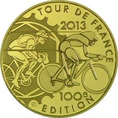 5 Euro Gold Tour de France PP