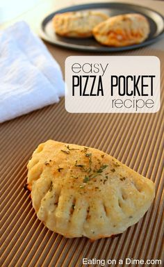 You have to try this Easy Pizza Pocket Recipe. It tastes amazing and and the kids love it. The best part is that is freezes great for a quick and easy meal idea.