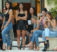 Kylie and Kendall Jenner celebrate high school graduations #dailymail