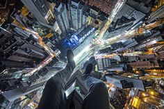 A fearless daredevil has scaled some of Asias tallest buildings - just for fun. Thrillseeker Ivan Kuznetsov, originally from Russia, has reached the top of skyscrapers in the likes of Hong Kong and Shanghai. The 20-year-old rooftopper said that he actually finds climbing quite difficult, and that he does not advise others to follow his lead. Despite the difficult climbs he has embarked on - including looking down on the 101-floor Shanghai World Finance Center - Ivan said that he is not ...
