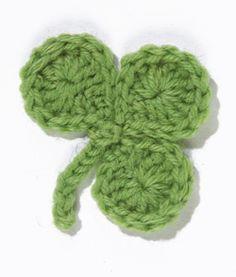 crochet lana wool knit St. Patrick's Day green verde trébol shamrock party fiesta miraquechulo