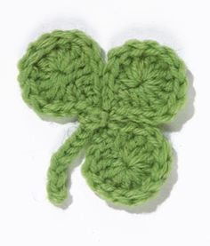 crochet lana wool knit St. Patrick's Day green verde trébol shamrock party fiesta miraquechulo
