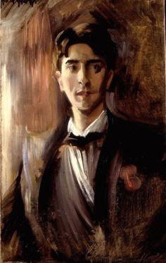 Jean Cocteau Portrait - Federico de Madrazo - c. 1910-1912 -