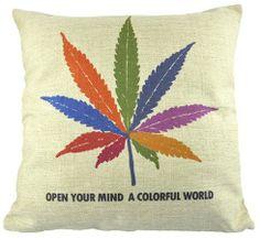 New Colorful Marijuana Leaf Decorative Pillow Case Linen Cushion Cover Sham NAVA,http://www.amazon.com/dp/B00D2PDGZ6/ref=cm_sw_r_pi_dp_GcmPsb0P7KRGE76F