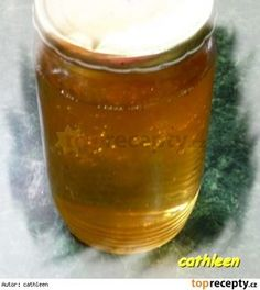 Bezinkový sirup Juicing For Health, Korn, Shot Glass, Salsa, Beer, Canning, Mugs, Tableware, Syrup