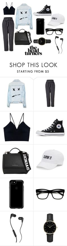 """""""Sans titre #8"""" by youssra-chouaib on Polyvore featuring LE3NO, Converse, Givenchy, SO, Speck, Skullcandy et ROSEFIELD"""