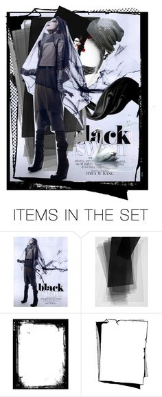 """Black Swan"" by peeweevaaz ❤ liked on Polyvore featuring art, artset, polyvoreeditorial and artexpression"