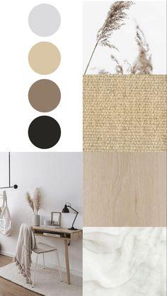 House Color Palettes, Lounge Design, Minimalist Room, Mid Century Modern Decor, Dream Home Design, Home And Deco, Home Office Decor, Colour Schemes, Bedroom Colors