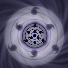 Sasuke's tomoe rinnegan