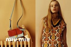 Miu Miu reveals its autumnal pre-AW15 campaign: http://www.dazeddigital.com/fashion/article/24590/1/miu-miu-reveals-its-autumnal-pre-aw15-campaign