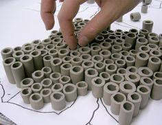 Large Custom Order 40 x 40 Ocean Theme Wall von CoastalCeramics - DIY Wall Art Clay Wall Art, Ceramic Wall Art, Ceramic Pots, Clay Art, Ceramic Techniques, Pottery Techniques, Pottery Sculpture, Sculpture Clay, Slab Pottery