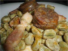 Habas a la catalana (Olla New Chef y Método tradicional)