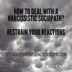 Sociopath how to deal with