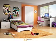 Dětský pokoj Furnipol.cz Entryway, Bed, Furniture, Home Decor, Entrance, Decoration Home, Stream Bed, Room Decor, Door Entry