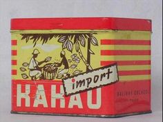 Kakao v plechové krabičce Packaging, Graphics, Memories, Graphic Design, Historia, Cake Shop, Nostalgia, Memoirs, Souvenirs