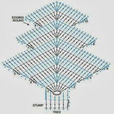 Moje tvořeníčko...: Háčkovaný stromeček
