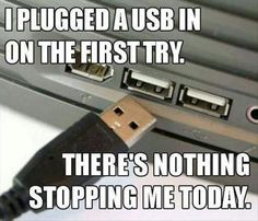 USB on the first try: unstoppable