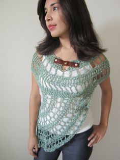 OOAK NEW Katniss Spring Gatherer Cowl, Bathing Suit Cover Up Summer Shawl, District 12, Cosplay,