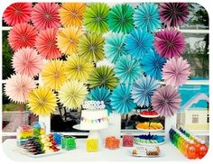 Love this backdrop! This also gives some GREAT appetizer ideas!!