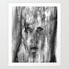 Chaotic Art Print by Robin Persson - $20.00