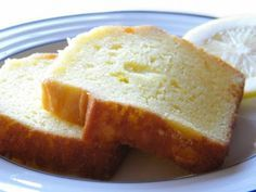 Super moist lemon pound cake; making this now!
