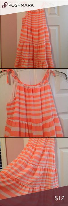 Copper Key girls sundress Copper Key girls sundress--flowy and cool with ties at shoulder straps--outgrown before wearing more than a few times--excellent condition! Copper Key Dresses Casual