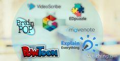 ¿Quieres flipear tu clase pero sigues preparando únicamente el contenido en PowerPoint? ¡Conoce otras geniales herramientas 2.0 para crear contenido!