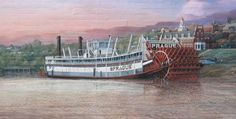 The Sprague - The Big Mama of the Mississippi =  Huge....was a wonderful museum filled with photos of Riverboats...sadly a fire destroyed this wonderful site.
