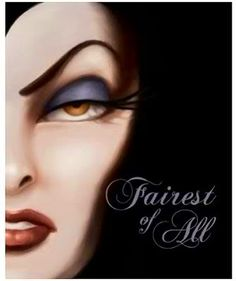 Fairest of All: A Tale of the Wicked Queen by Serena Valentino. I love this book! I wish Disney would make more like this about different vilenesses, like Ursula or Cruella de Vil.