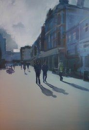 Theatre Royal by Sam Hewitt - oil on canvas Fourth Wall, Oil On Canvas, Theatre, Artist, Painting, Theatres, Artists, Painting Art, Paintings