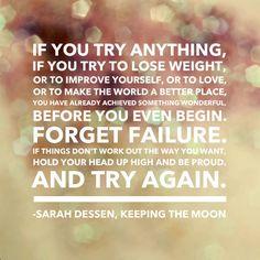 Sarah Dessen, keeping the moon