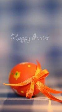 Wielkanocne jajo z kokardką