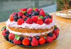Raspberry, Cheesecake, Food And Drink, Sweets, Fruit, Cooking, Smooth, Birthday Cakes, Pastries