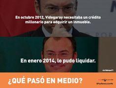 """""""En 2012 Videgaray necesitó un crédito millonario para comprar inmueble. En 2014 lo pudo liquidar Qué pasó en medio?"""""""