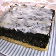Polish poppy seed cake Source by aaschlie Polish Poppy Seed Cake Recipe, Baking Tins, Cake Baking, No Cook Desserts, Polish Recipes, Food Cakes, No Bake Cake, Amazing Cakes, Food Processor Recipes