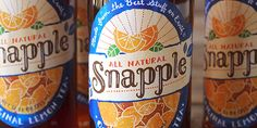 snapple redesign