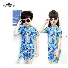 928a641827 Sbart One Piece Swimsuit for Boys Girls Children Quick-dry Kids Swimwear  for Swimming Snorkeling Surfing Bathing Suit Cartoon [orc32887631189] -  $54.30