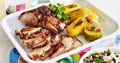 Please a crowd with this flavoursome roast pork served with corn and home-made orange and lime sauce.