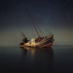 Shipwreck off the Coast of Finland | Photo by Mika Suutari