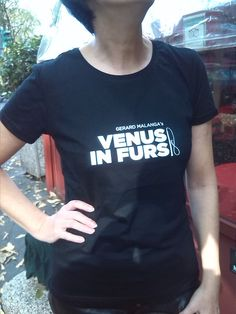 The bizarre charm of our t-shirt... It's one of the perks for the contributors of our crowdfunding campaign. More at http://igg.me/at/factorypeople #factorypeople #gerardmalanga #venusinfurs #tshirt #t-shirt #black