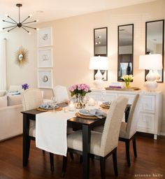 Awesome 40 Clever and Genius Small Dining Room Design Ideas https://cooarchitecture.com/2017/08/08/40-clever-genius-small-dining-room-design-ideas/