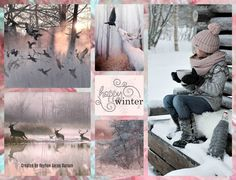 '' Happy Winter '' by Reyhan Seran Dursun Noel Christmas, Winter Christmas, Xmas, Collages, Photography Collage, Mood Colors, Color Collage, Beautiful Collage, I Love Winter