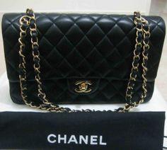 Authentic Chanel Handbags For Classic Double Flap Bag 2 55 Medium