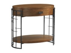 Island Fusion Sendai High/Low Nightstand | Lexington Home Brands