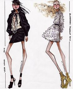 Fashion illustrators « Luxe Gifts Fabulous Blog