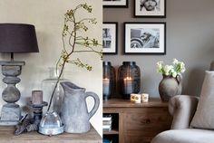 Jouw woonkamer landelijk inrichten: 15 voorbeelden!