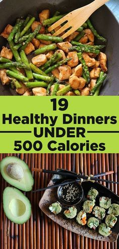 19 Healthy Dinners Under 500 Calories